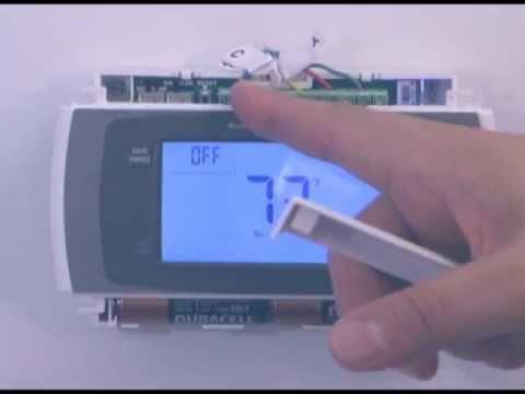 Thermostat Installation Basics YouTube