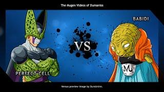MUGEN: Perfect Cell vs. Babidi