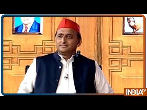 Akhilesh Yadav in Aap Ki Adalat (Election Special)