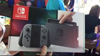 WON A NINTENDO SWITCH FROM DAVE AND BUSTERS!! | JOYSTICK