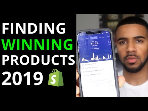 How To Find WINNING Products in 2019   Shopify Product Research thumbnail