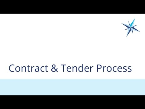 Contract and Tender Process