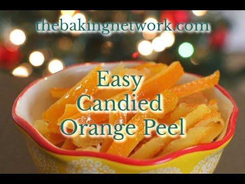 Best Candied Orange Peel Recipe (secret method for extra flavor!)