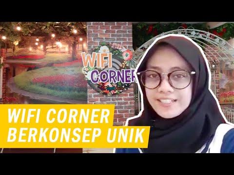 Wifi Corner Royal Plaza Surabaya Suguhkan Konsep Instagramable