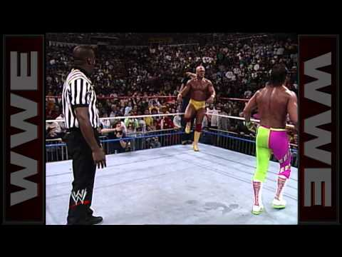 Hulk Hogan vs. Randy Savage  WWE Championship Match: Main Event, February 23, 1990