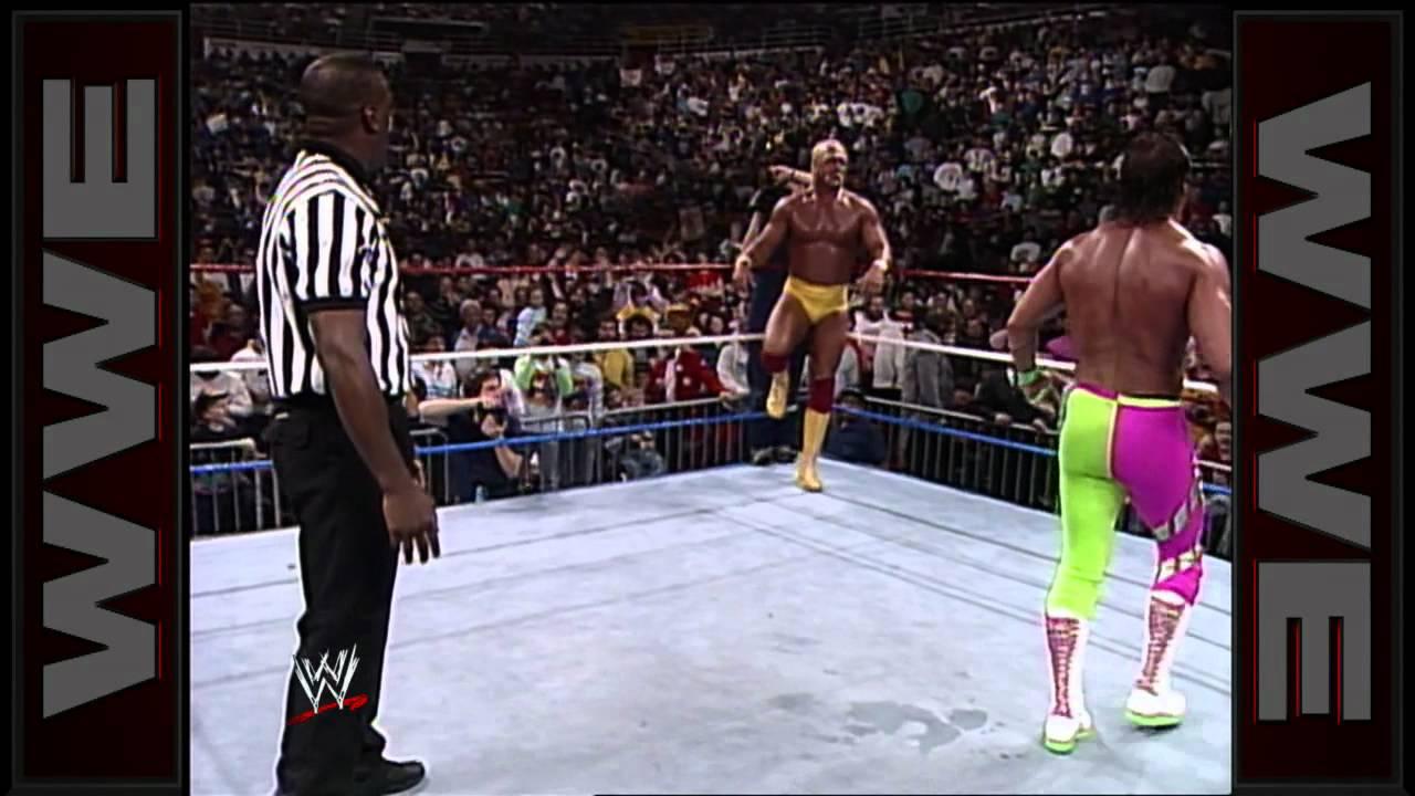 Hulk Hogan vs. Randy Savage - WWE Championship Match: Main Event, February 23, 1990