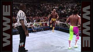 Hulk Hogan Vs Randy Savage WWE Championship Match Main Event February 23 1990