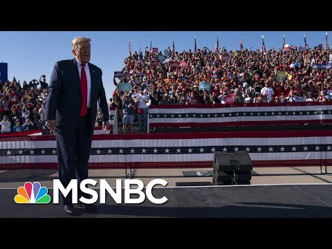 Trump Sowing Seeds Of Upset With Misinformation About Election Night Vote Counting   Rachel Maddow