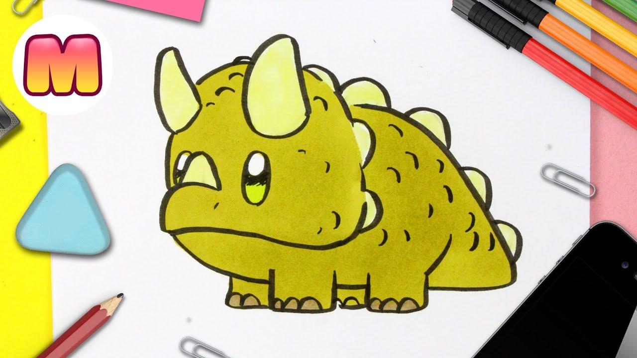 Como Dibujar Un Dinosaurio Kawaii Dibujos Kawaii Faciles Como Dibujar Un Triceratops Youtube Cuando pensamos en la era de los dinosaurios sabemos que fue hace mucho tiempo atrás, pero… ¿en qué época vivieron los dinosaurios? como dibujar un dinosaurio kawaii dibujos kawaii faciles como dibujar un triceratops