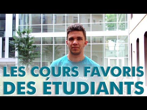Les cours favoris des étudiants - Team Admissibles #ESDES