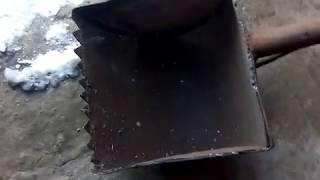Черпак для зимней рыбалки телескопический