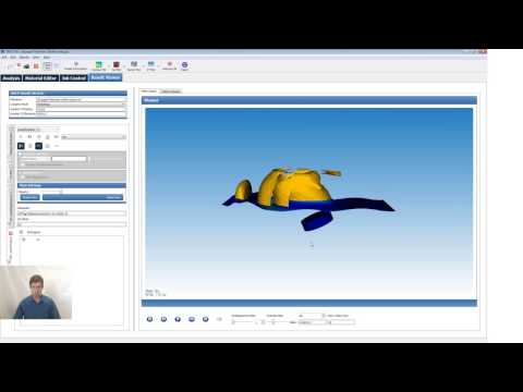 3D Ultrasonic Thickness Sensor - NACS Simulation Setup and Result Review