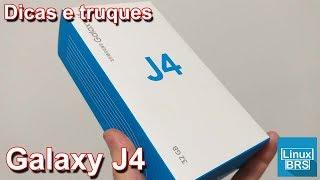 🔘 Samsung Galaxy J4 - Dicas e truques