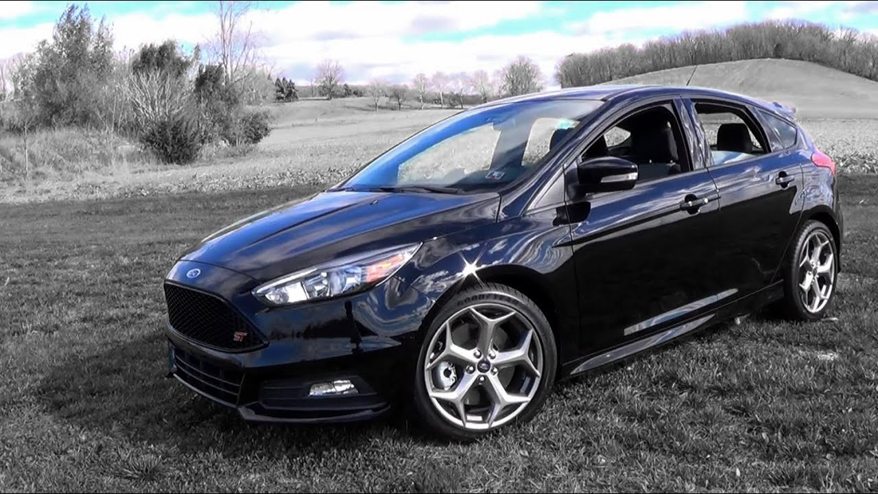 2016 ford focus st review youtube. Black Bedroom Furniture Sets. Home Design Ideas