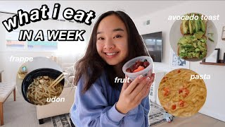 what i eat IN A WEEK *15 year old* | Nicole Laeno