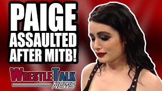 HUGE WWE MATCH ANNOUNCED! Paige ASSAULTED After WWE MITB! | WrestleTalk News June 2018