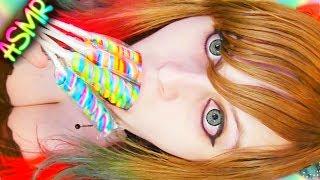 ASMR 🍭 Lollipop Licking ░ Mouth Sounds ♡ Twist Pop, Candy, Food, Eating, Crinkle, Wet ♡