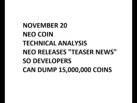 NEO   November 20 - Technical Analysis - Raging Rant