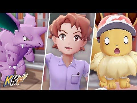 Nidorino Evolved Into Bill - Pokémon: Let's Go, Eevee! #5
