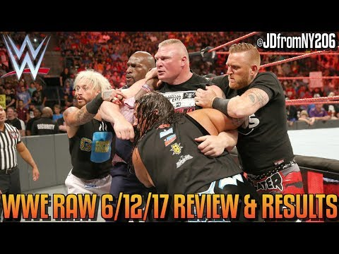 WWE Raw 6/12/17 Review Results & Reactions: IT'S NOT ENTERTAINMENT, IT'S EMBARRASSMENT