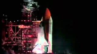 STS-61 Launch NASA Footage