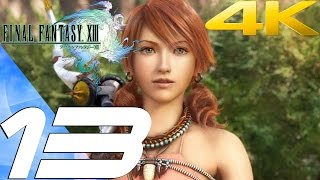 Final Fantasy XIII - Walkthrough Part 13 - Sunleth Waterscape [4K 60FPS]