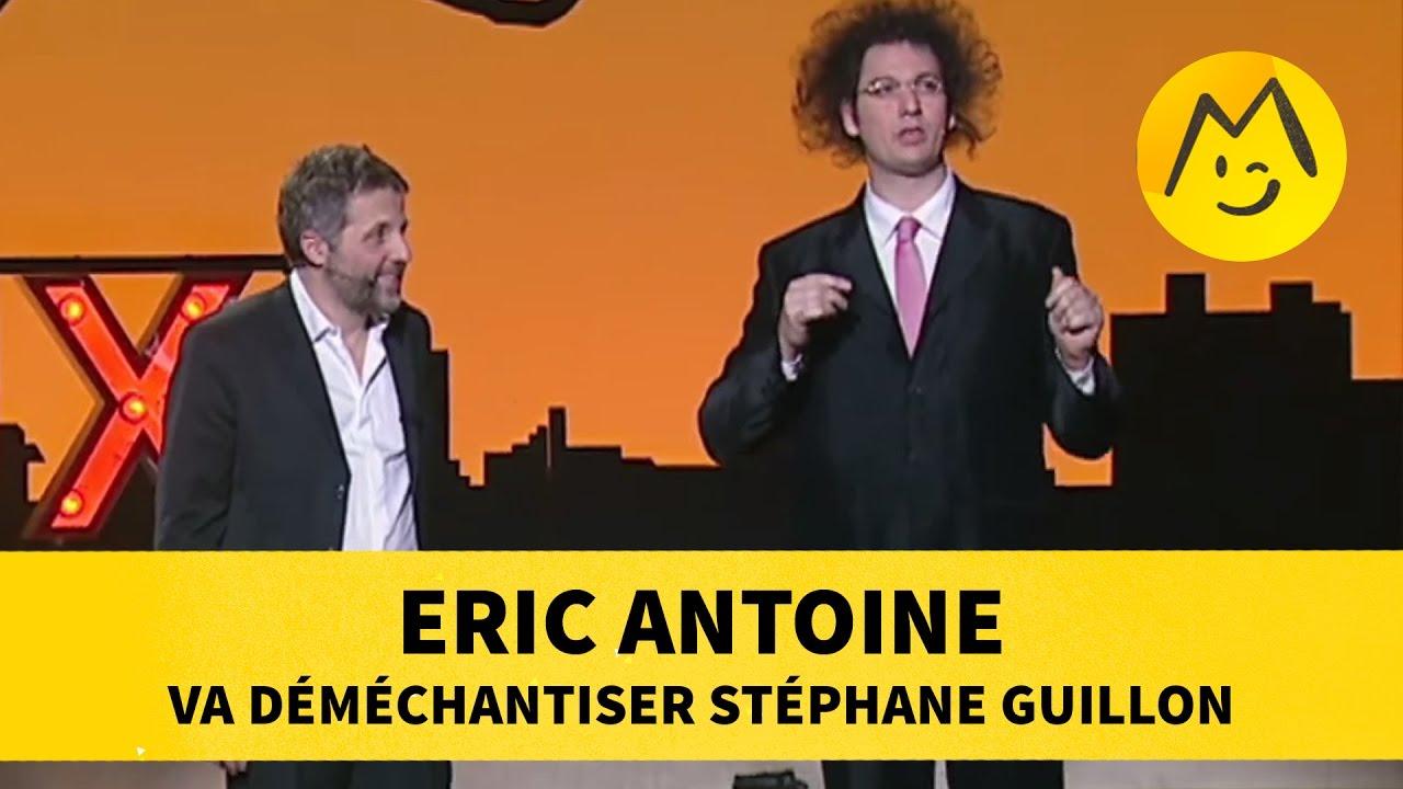 Eric Antoine va déméchantiser Stéphane Guillon