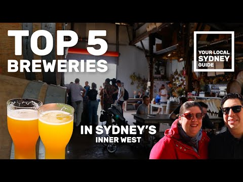 TOP 5 BREWERIES IN SYDNEY's INNER WEST! (Your Local Sydney Guide)