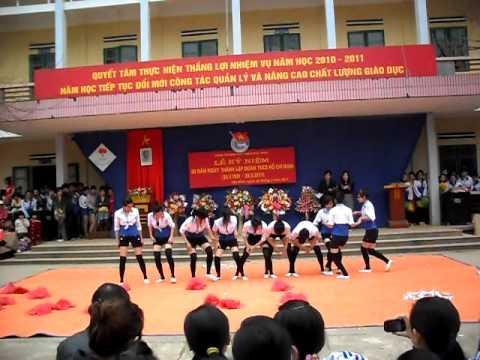 Nhảy Erobic 11A4 - Trần nhật duật