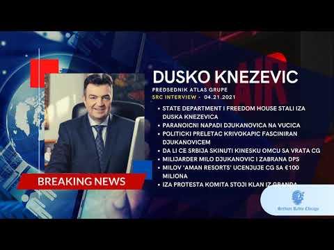 EXCLUSIVE! PROF DR DUSKO KNEZEVIC - MILO 'TEZAK' VISE OD MILIJARDU EVRA (04.21.21)