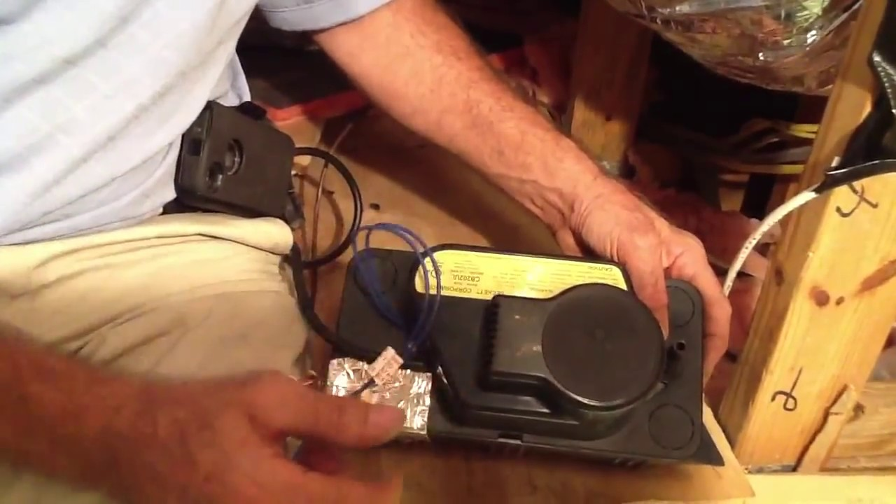 How To Wire Low Voltage On A Condensate Pump