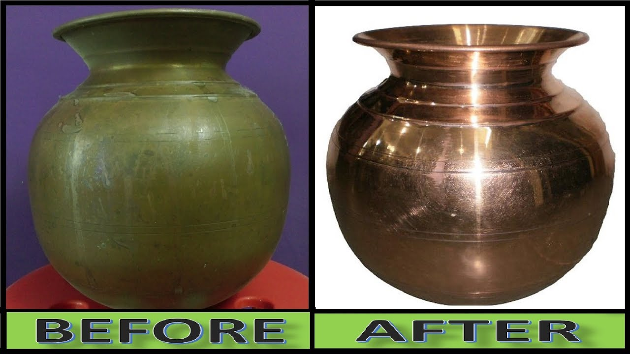 Miracle Cleaner How To Clean Copper Pot In 2 Minutes You Never Believe This Magic