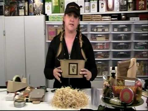 How To Make a Gift Basket, hosted by Debbie Quintana of Gourmet Gifts