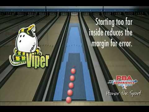 Pba Bowling Viper Oil Pattern Youtube