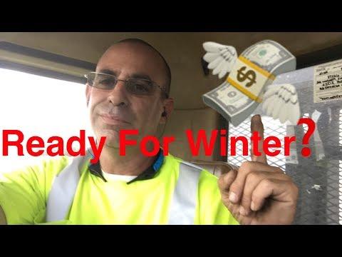 Important Winter Info Lawn service side hustle - be prepared for winter