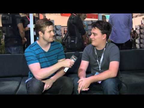 30FPS vs High FPS discussion with Palmer Luckey - E3 2014