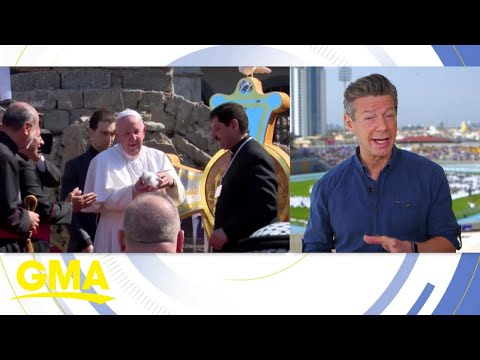 Pope Francis' spends last day in Iraq | GMA - Good Morning America