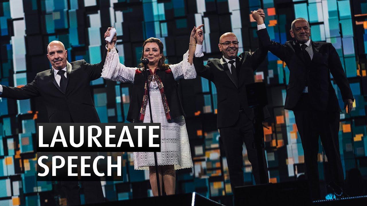 Tunisian National Dialogue Quartet Speech -The 2015 Nobel Peace Prize Concert