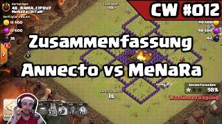 Clash of Clans | CW #012 - Annecto vs MeNaRa ''HiTaM' - 50 vs 50 | [Deutsch]