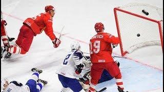Россия плохо начала матч с Австрией, но их атака - лучшая!