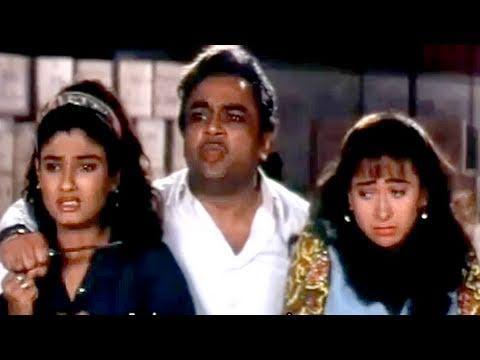Aamir and Salman's trick to rescue the girls - Andaz Apna Apna,Comedy Scene 23/23