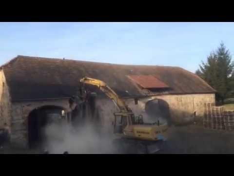 Häufig Abbruch von Scheune/Altbau unter 1 Minute - YouTube XT93