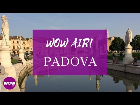 WOW air travel guide application - Padova, Italy