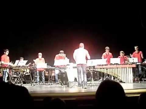 Ensemble Conservatorio profesional de Música de Alcañiz. Percusiones.