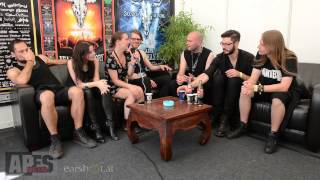 Interview with Beyond The Black at W:O:A 2014