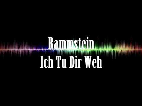 Rammstein - ich tu dir weh Lyrics