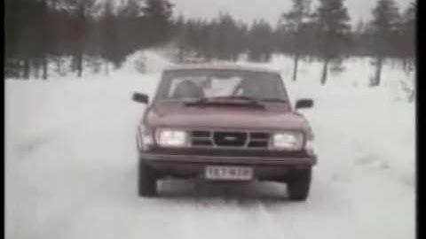 saab 99 finland ad 1978