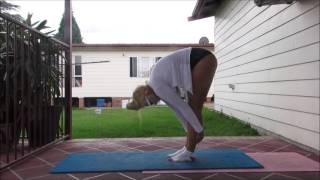 How to do Uttanasana - Standing Forward Bend