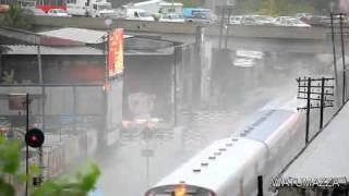 Tsunami by Train Wow!!!!