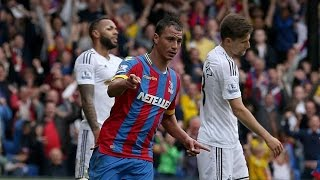 Video Gol Pertandingan Swansea City vs Crystal Palace